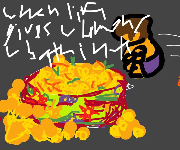 Pool of lemons
