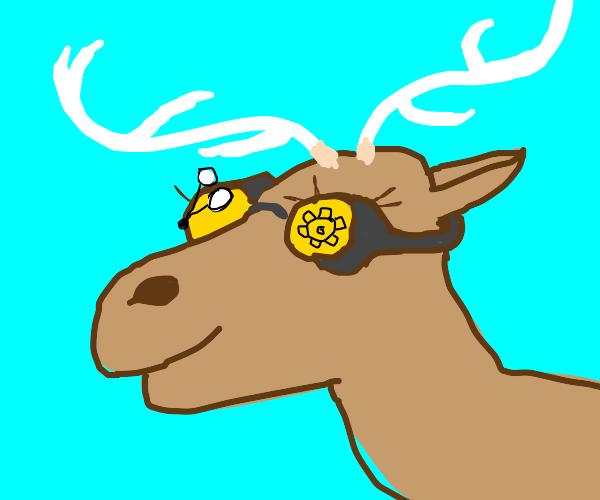Steampunk Elk