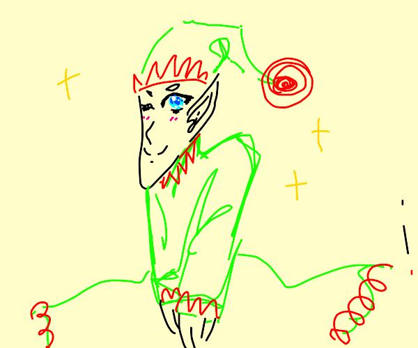 anime elf