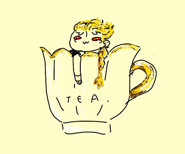 Lucio in a teacup