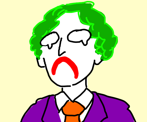 Joker big sad