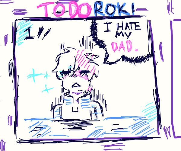 Todoroki comic