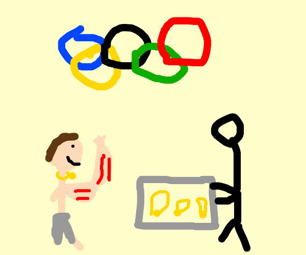 Oversimplified Olympic games