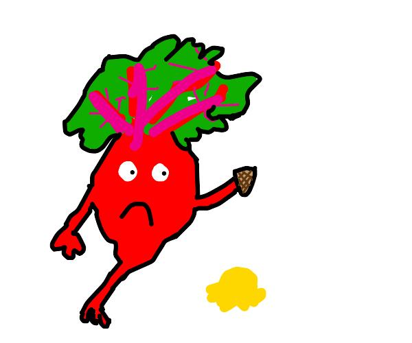 Sad beet