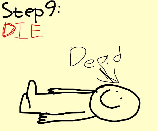 Step 8: kill