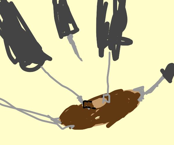 doing surgery on a potato