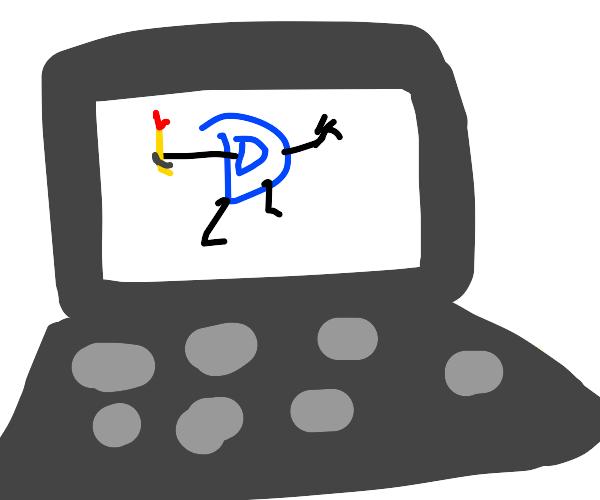 drawception inside a desktop window