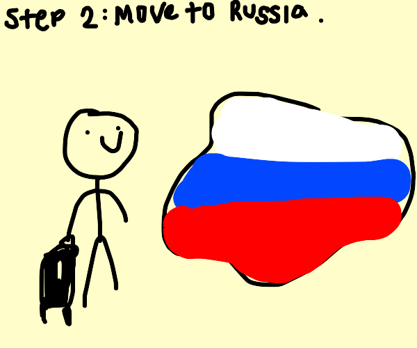 Step 1: Learn how to speak Russian