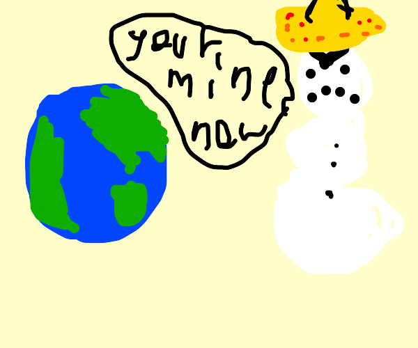 Mexican snowman has invaded Earth