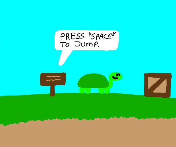 turtle jumper game