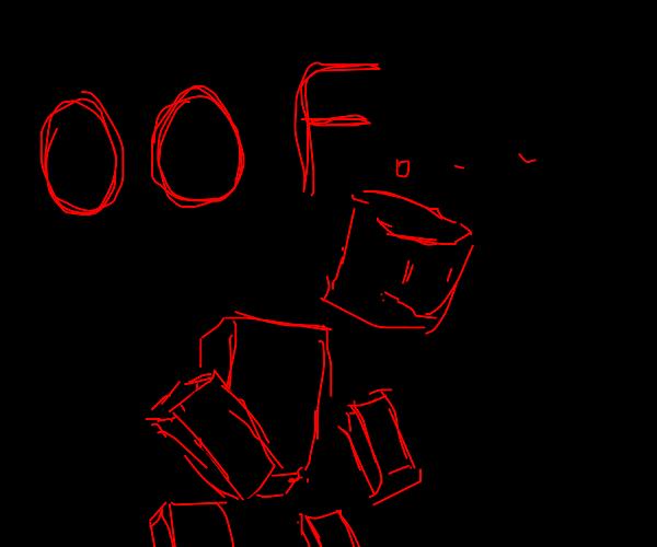 Roblox character dies