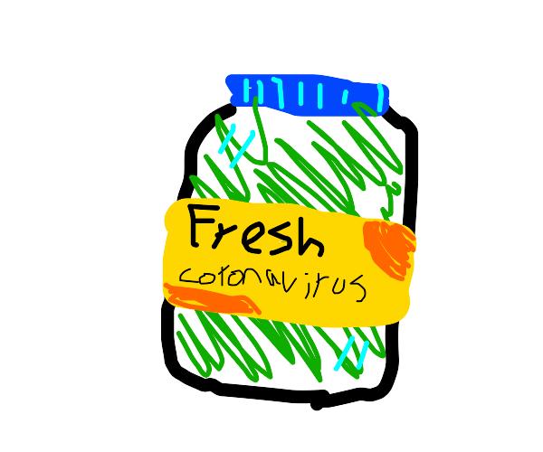 jar of corona