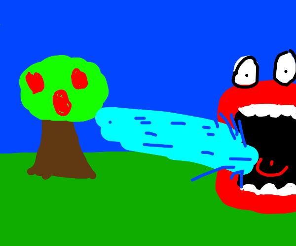 Shoop da whoop apple tree
