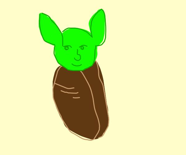 Memefaced Baby Yoda