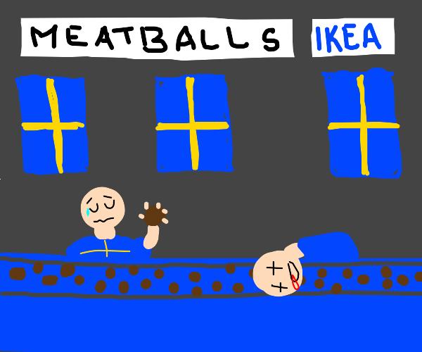 How Ikea meatballs are made