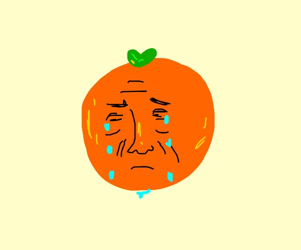 sad hank hill orange