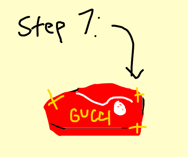 Step 6: Rebrand skirt steak to Gucci steak