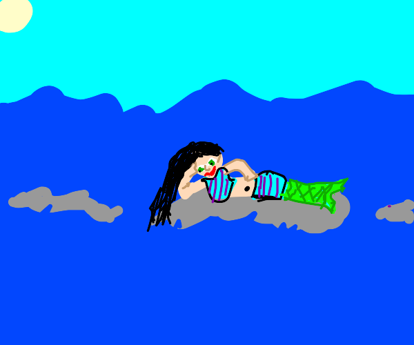 Mermaid With Swimsuit