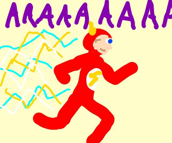 FLASH! AAAAAAAAAAAAAAAAAAA!