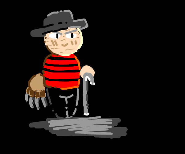 FREDDY KRUGER WITH CANE