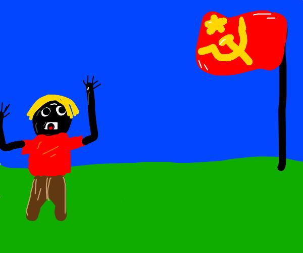 in soviet russia snek step on you