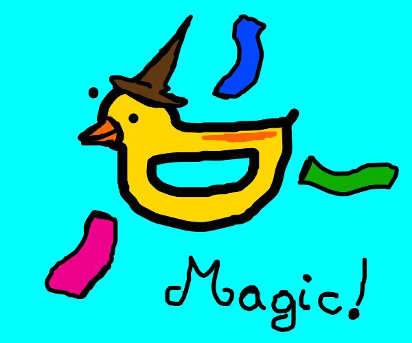 Drawception ducks are secretly magic