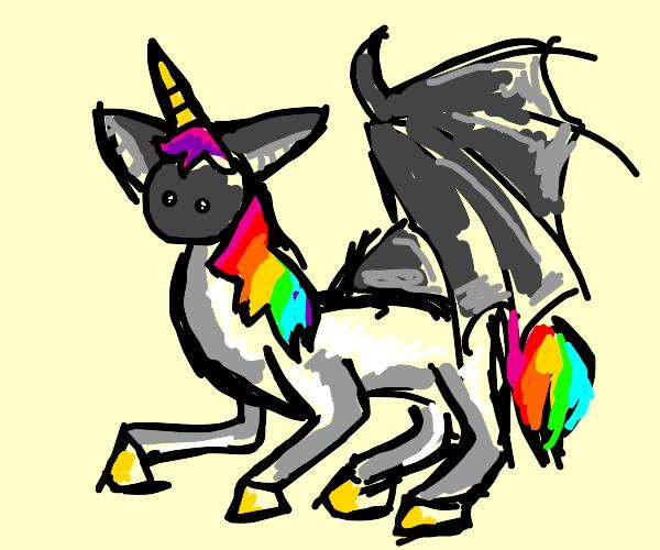 Bat Unicorn Hybrid