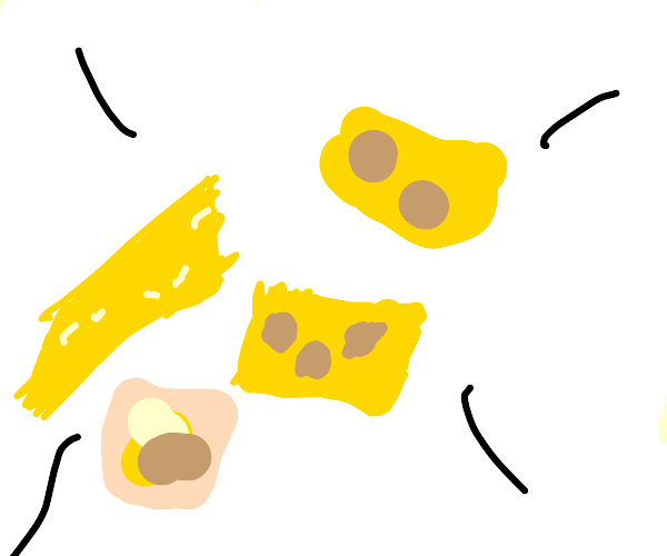 super cheesy