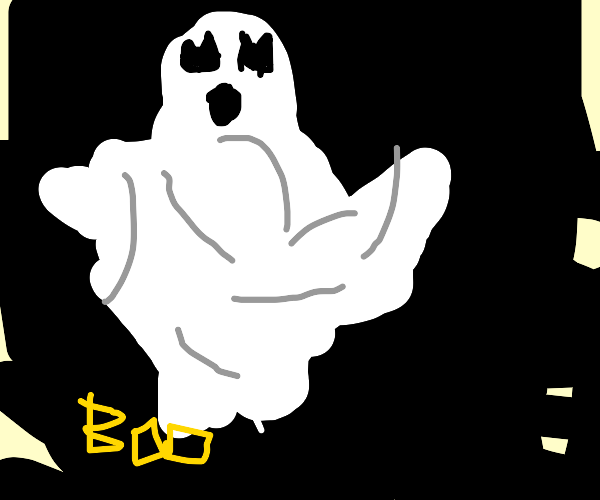 Ghosts taking over Drawception