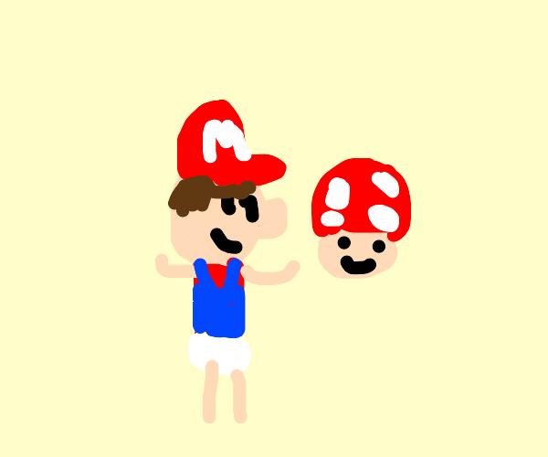 A smol child version of Mirio