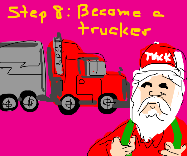 Step 7: Give up being santa