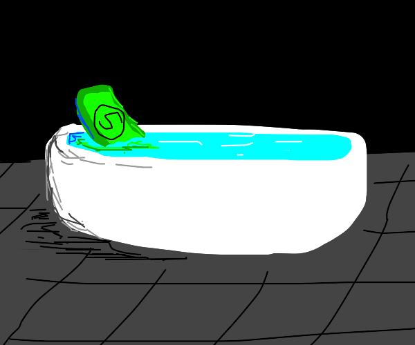 5 dollar bath tub