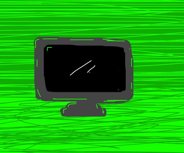 TV in green room