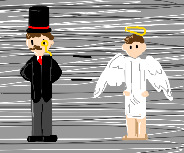 fancy guy is equal to angel