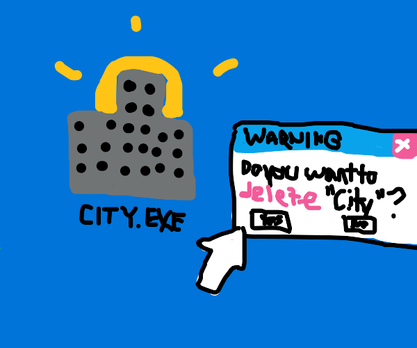 City Gets Deleted