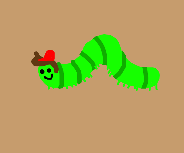 catapillar boy