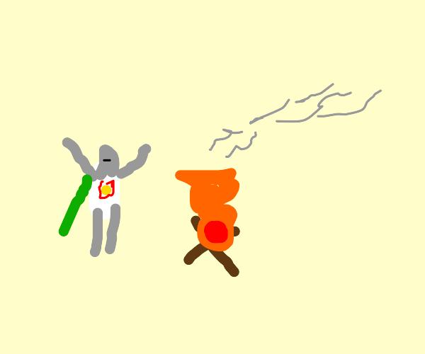 hail the fire