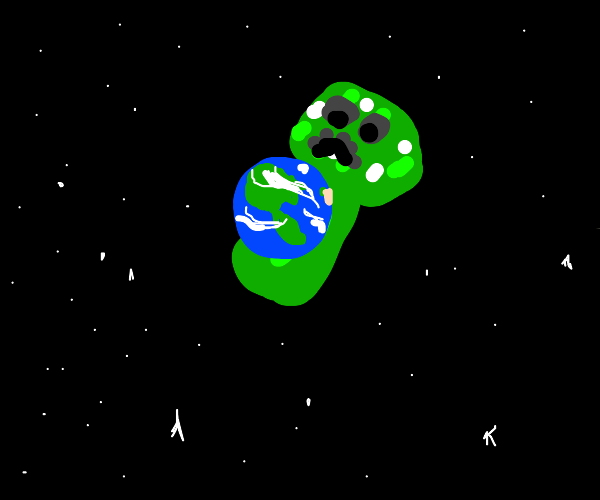 creeper completes goal of world domination
