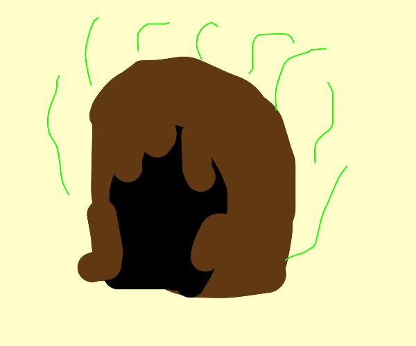 The fecal cave