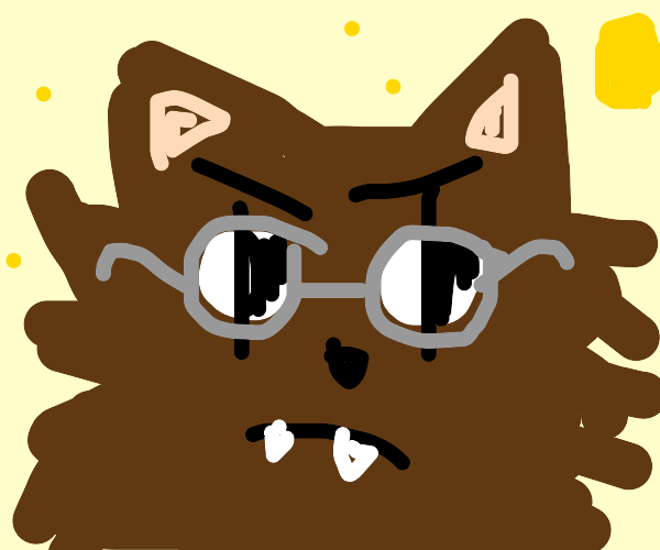 Werewolf with Glasses