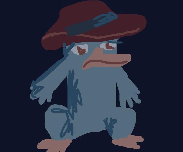Depressed Perry the Platypus