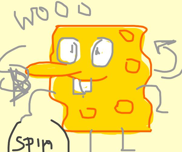 Spongebob spins