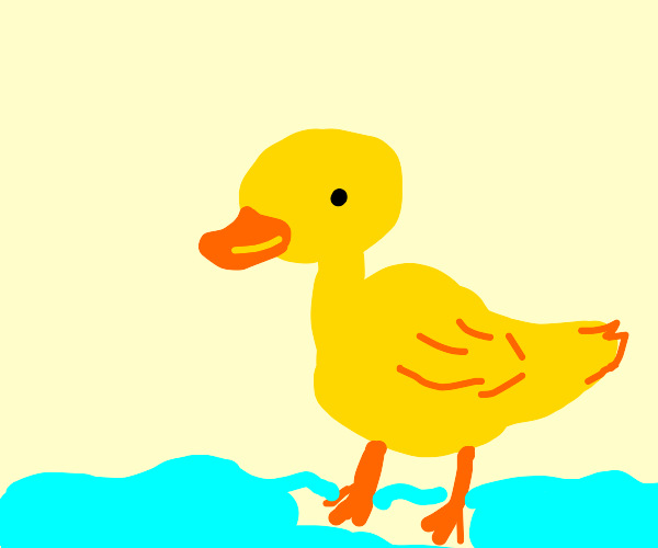 A duck (Ducksiesi123 will draw the phrase).