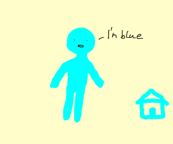 I'm blue dabuh dee dabah die