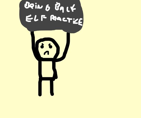 let's bring back elf practice