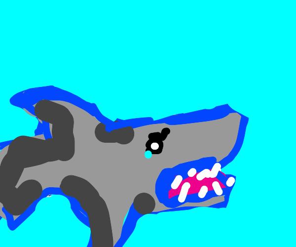 shark w clinical depression