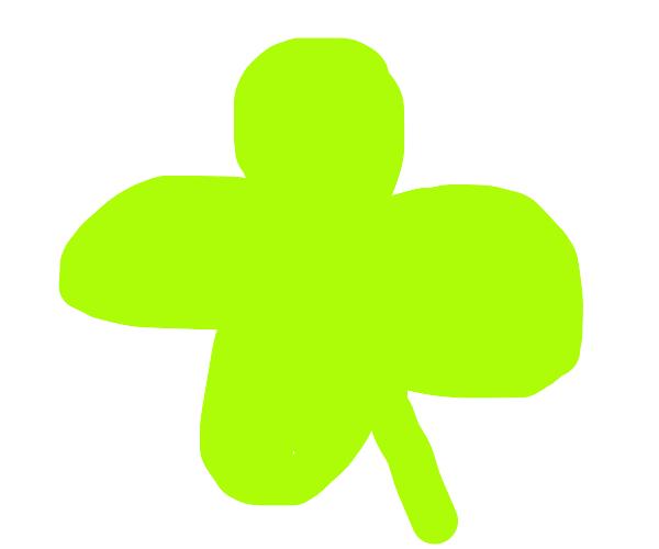 Lucky Irish clover