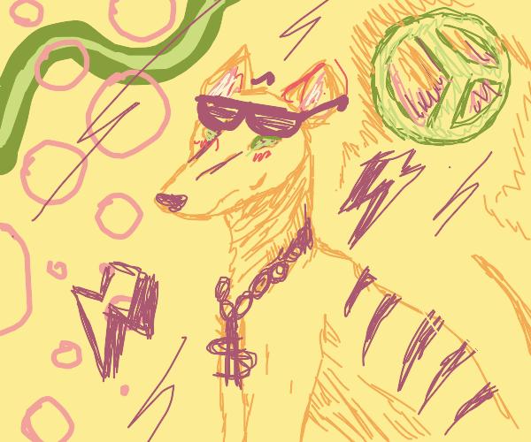 hipster thylacine