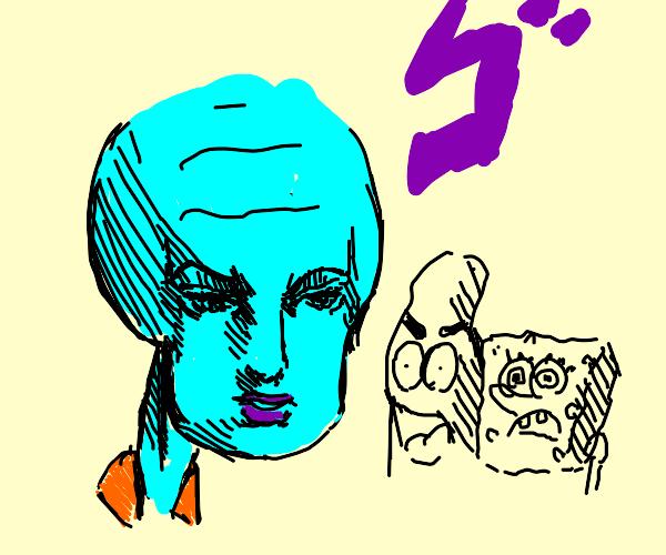 Anime Squidward