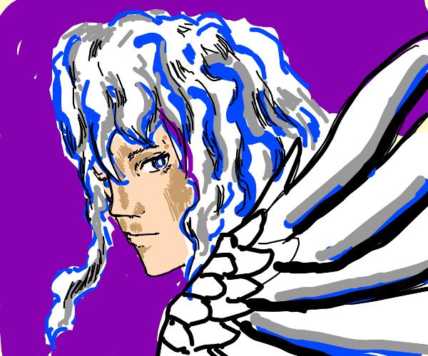 """I've got white hair and white wings."""